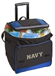 Rolling Naval Academy Cooler Bag Blue