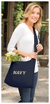 Naval Academy Tote Bag Sling Style USNA Navy Shoulder Bag Navy