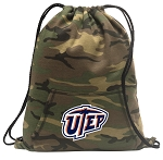 UTEP Miners Drawstring Backpack Green Camo
