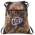 UTEP Miners RealTree Camo Cinch Pack