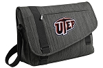UTEP Miners Messenger Laptop Bag Stylish Charcoal