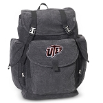UTEP Miners LARGE Canvas Backpack Black