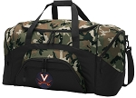 Official University of Virginia Camo Duffel Bags