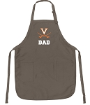 Official University of Virginia Dad Apron Tan