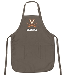 Official University of Virginia Grandma Apron Tan