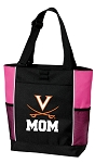 UVA Mom Tote Bag Pink
