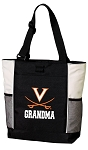 UVA Grandma Tote Bag White Accents