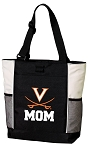 UVA Mom Tote Bag White Accents