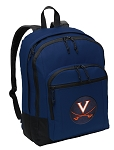 UVA University of Virginia Backpack Navy