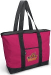 Deluxe Pink UVA Peace Frog Tote Bag