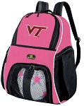 Girls Virginia Tech Hokies Soccer Backpack or Virginia Tech Volleyball Bag