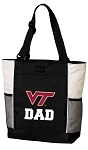 Virginia Tech Dad Tote Bag White Accents