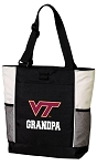 Virginia Tech Grandpa Tote Bag White Accents