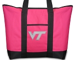 Deluxe Pink Virginia Tech Tote Bag