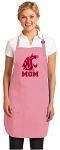 Washington State Mom Apron Pink - MADE in the USA!