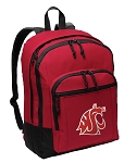 Washington State Backpack CLASSIC STYLE Red
