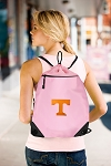 University of Tennessee Drawstring Bag Mesh and Microfiber Pink