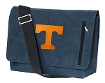 Tennessee Vols Messenger Bags STYLISH WASHED COTTON CANVAS Blue