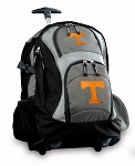 University of Tennessee Rolling Backpack Black Gray