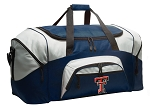Texas Tech University Duffle Bag Navy