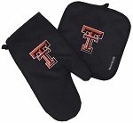 Texas Tech University Mitt Potholder Set