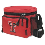 Texas Tech University Lunch Box Cooler Bag Insulated Red