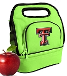 Texas Tech Lunch Bag Green