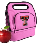Texas Tech Lunch Bag Pink