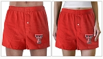 Texas Tech Boxers Red