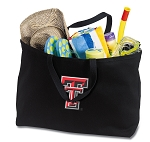Texas Tech University Jumbo Tote Bag Black