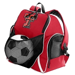 Texas Tech University Soccer Backpack