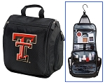 Texas Tech University Cosmetic Bag or Mens Shaving Kit - Travel Bag