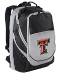 Texas Tech University Top Backpack Black Gray