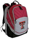 Texas Tech University Top Backpack Red Gray