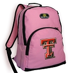Texas Tech University Backpack Pink