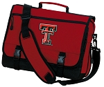 Texas Tech University Messenger Bag Red NCAA