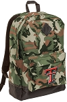 Texas Tech University Camo Backpack