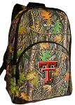 Texas Tech University REAL Camo Backpack
