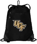 Central Florida Drawstring Backpack-MESH & MICROFIBER