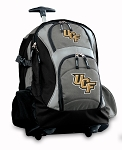 Central Florida Rolling Backpack Black Gray