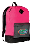 University of Florida Backpack Classic Style HOT PINK