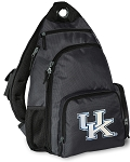 Kentucky Wildcats Backpack Cross Body Style Gray