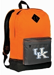 University of Kentucky Backpack Classic Style Cool Orange