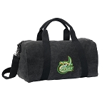 UNC Charlotte Duffel RICH COTTON Washed Finish Black