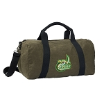 UNC Charlottes Duffel RICH COTTON Washed Finish Khaki