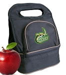 UNC Charlotte Lunch Bag Black