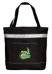 UNC Charlotte Insulated Tote Bag Black