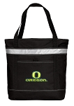University of Oregon Insulated Tote Bag Black