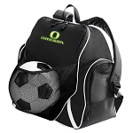 University of Oregon Soccer Ball Backpack