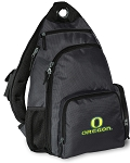 University of Oregon Backpack Cross Body Style Gray